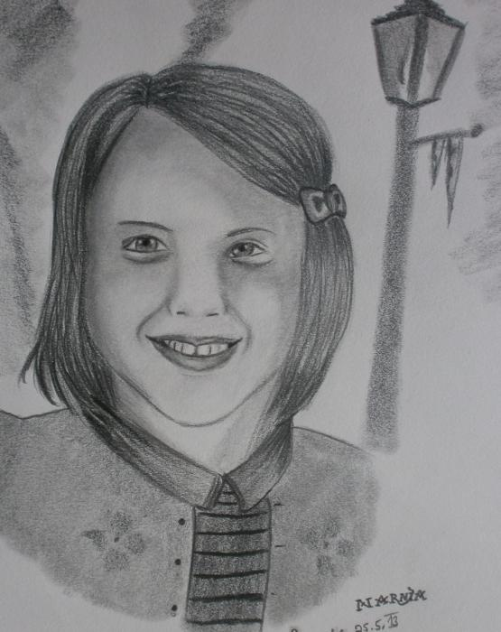 Georgie Henley by Narnia